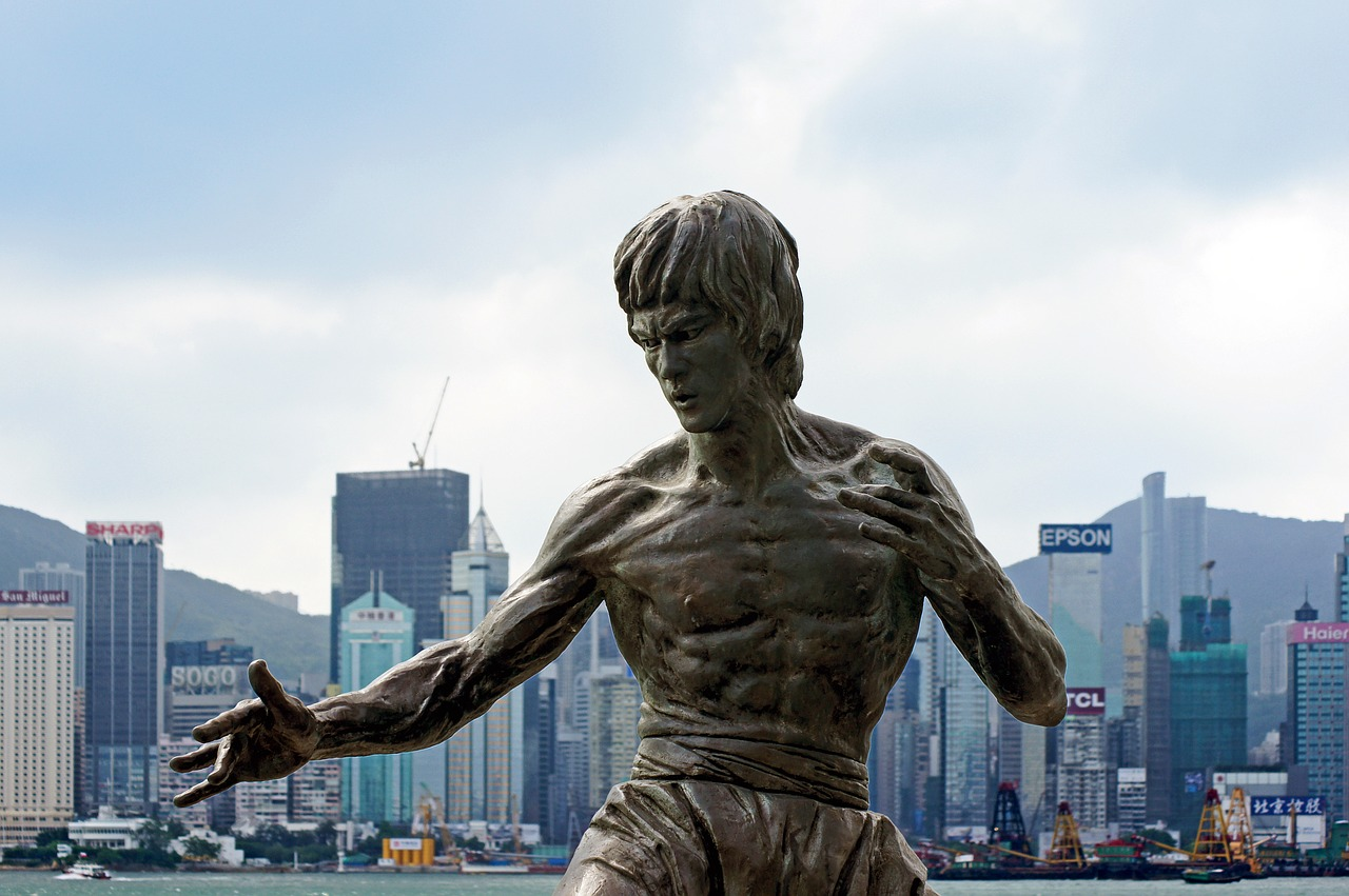 bruce lee hong kong china