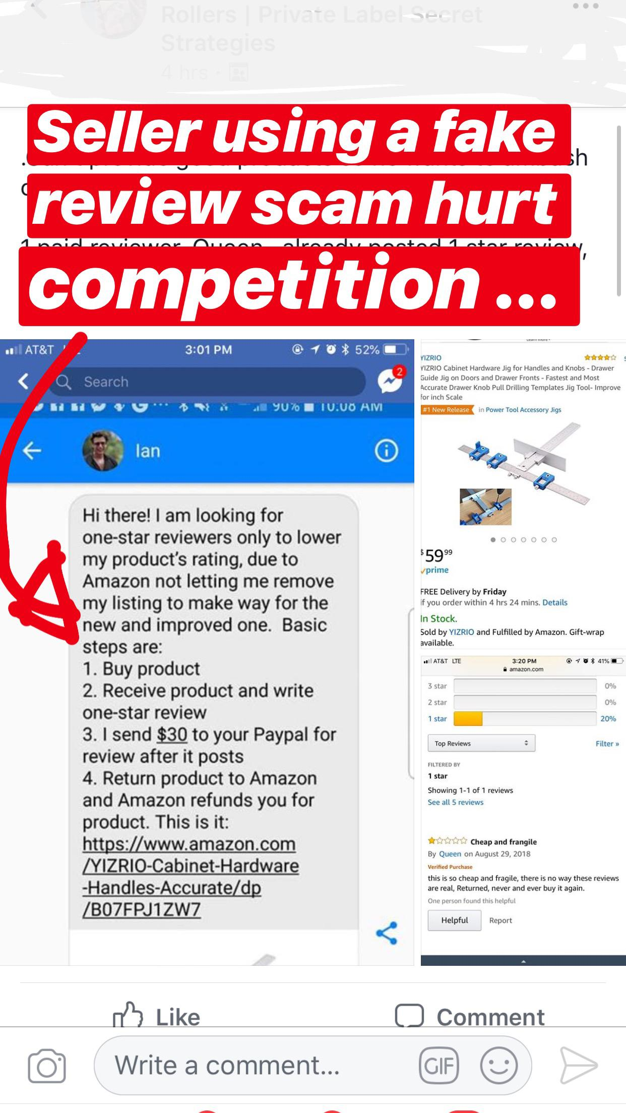 War is On: How to Fight Unfair Competition on Amazon - Black Hat
